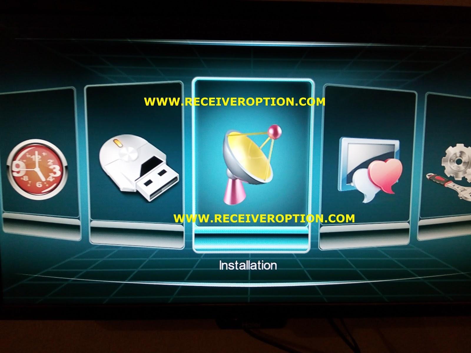 SUPER MAX SM 3000 HD 3G RECEIVER CCCAM OPTION - HOW TO ENTER