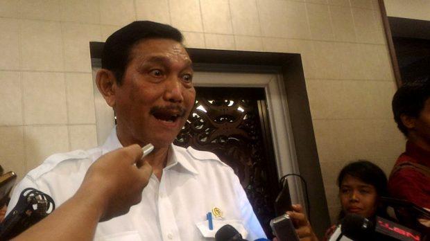 Luhut Marah Kala Wartawan Tanyakan Penyelidikan Polri Soal Reklamasi