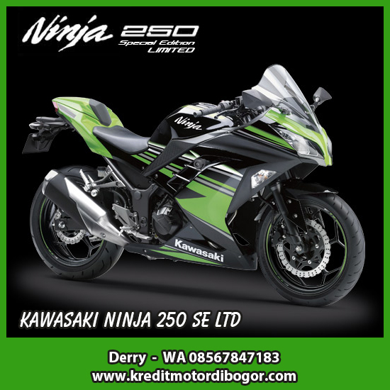 Kredit Motor Kawasaki Ninja 250 SE LTD di Bogor