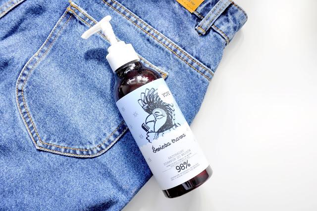 szampon yope do włosów przetłuszczających się świeża trawa