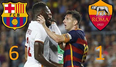توقيت وموعد مباراة برشلونة وروما الأربعاء 4-4-2018 ضمن دوري أبطال أوروبا و القناة الناقلة