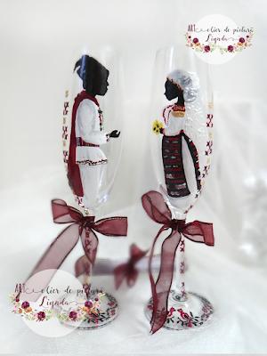 Pahare nunta made by Linda