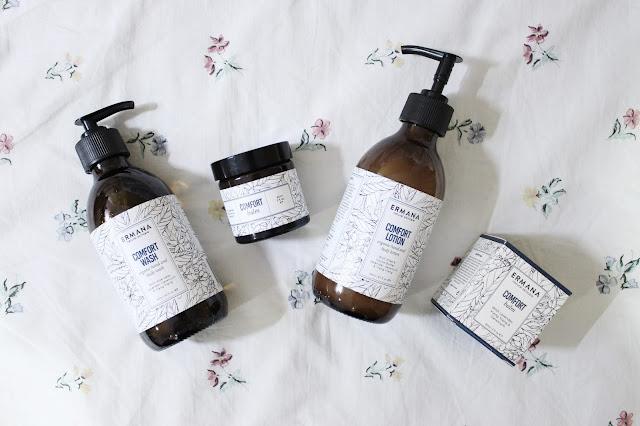 ermana reviews, ermana oxford, ermana blog review, ermana organic skincare, ermana natural skincare review, ermana comfort wash, ermana balm, ermana skincare reviews