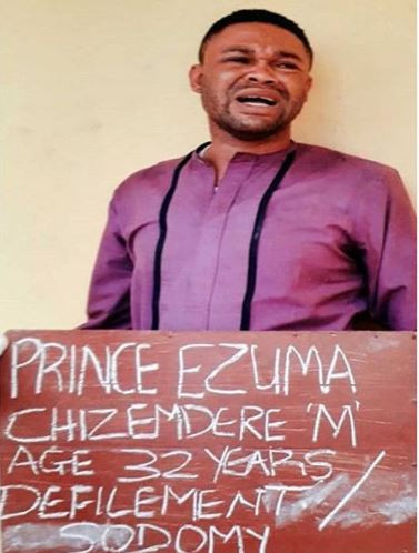 Gay pastor, Chizemdere Ezuma arrested for infecting underage boys with HIV in Lagos