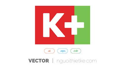 Logo vector K+ được sử dụng rất nhiều trong thiết kế