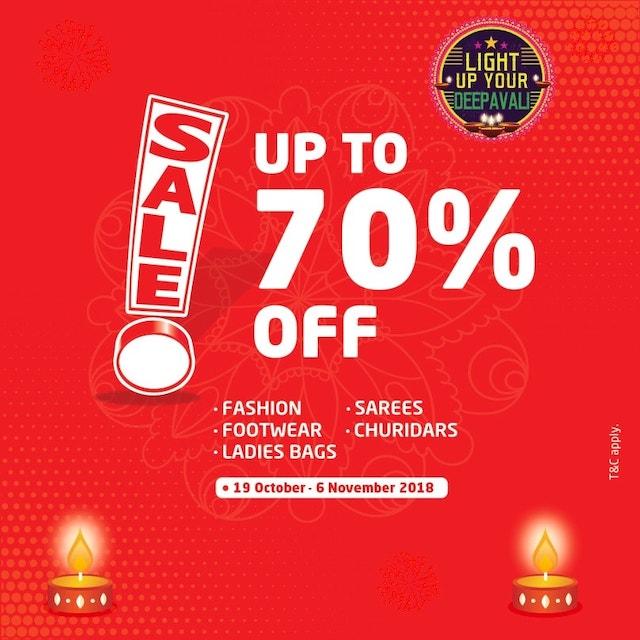 Lulu Hypermarket Caps Square, Lulu Hypermarket Kuala Lumpur, pasar raya murah, jualan murah Deepavali, Rawlins GLAM, Deepavali sales, Delighful Deepavali