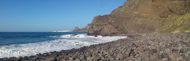 piscinas naturales del norte de Gran Canaria-playa de guayedra