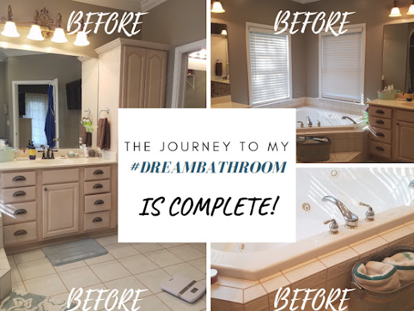 Project: #dreambathroom is finally finished!