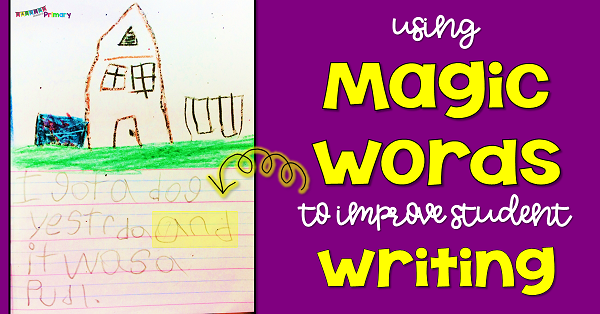 teach your first grade students to add more detail to their writing