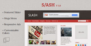 Slash Blogger Template