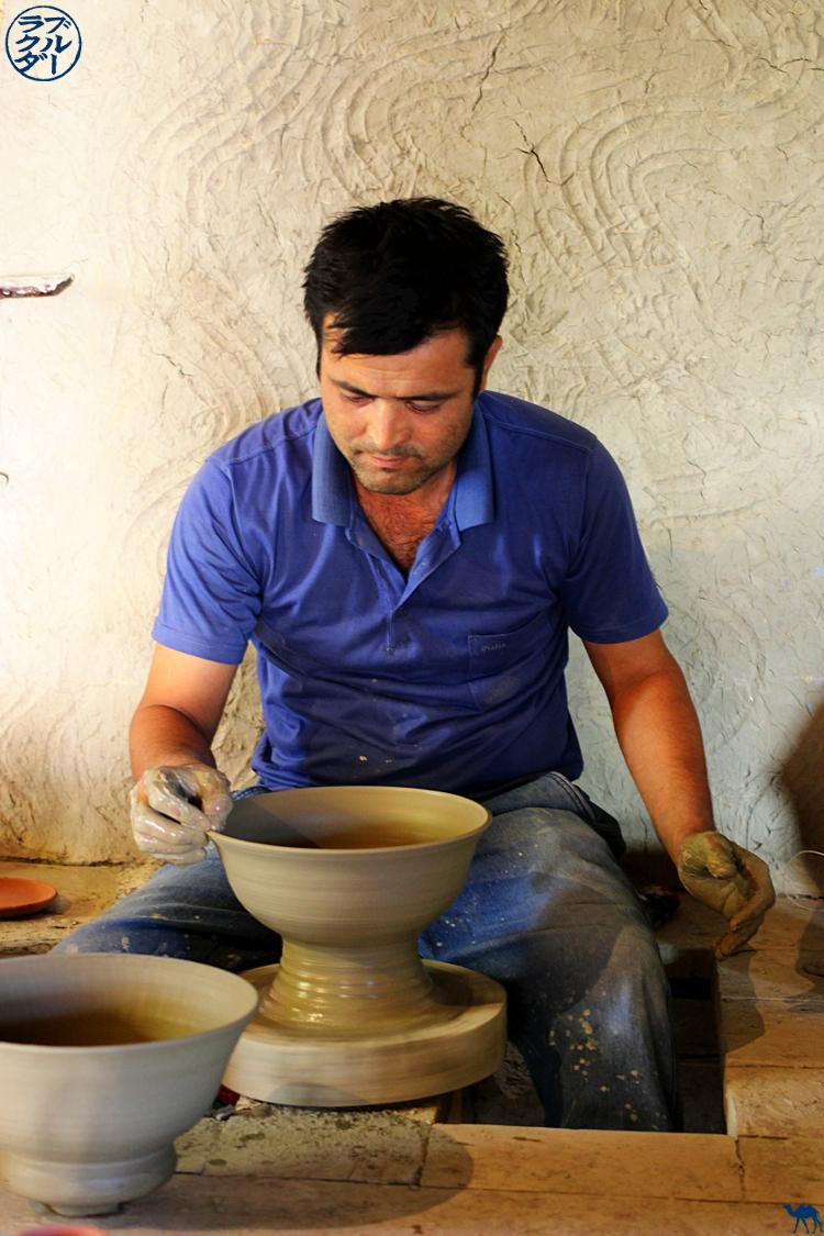 Le Chameau Bleu - Blog Voyage Boukhara Ouzbékistan - Céramique de Gijduvan
