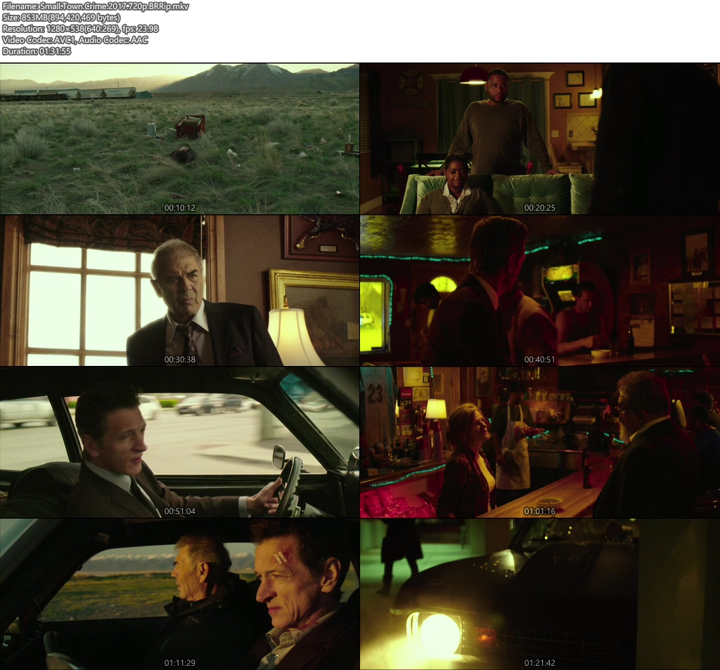 Small Town Crime 2017 BRRip 720p | 350MB 480p | 150MB HEVC Screenshot