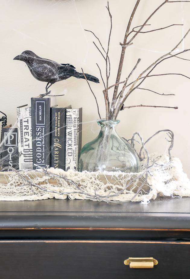 Thrifty Halloween Decor, Halloween, DIY halloween decor