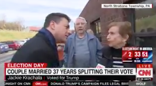 Woman To CNN: I'm Not Excited For The Frst Female President