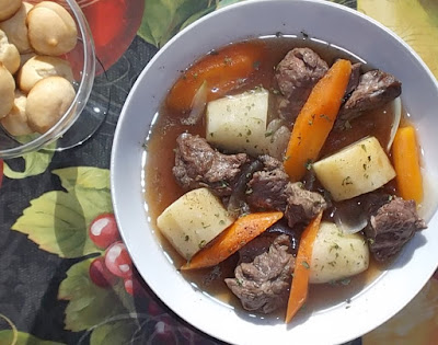 Irish Stew for any time of year not just St. Patrick's Day