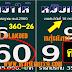 มาแล้ว...เลขเด็ดงวดนี้ 3ตัวตรงๆ หวยซอง หมับเข้าให้ งวดวันที่ 16/7/60