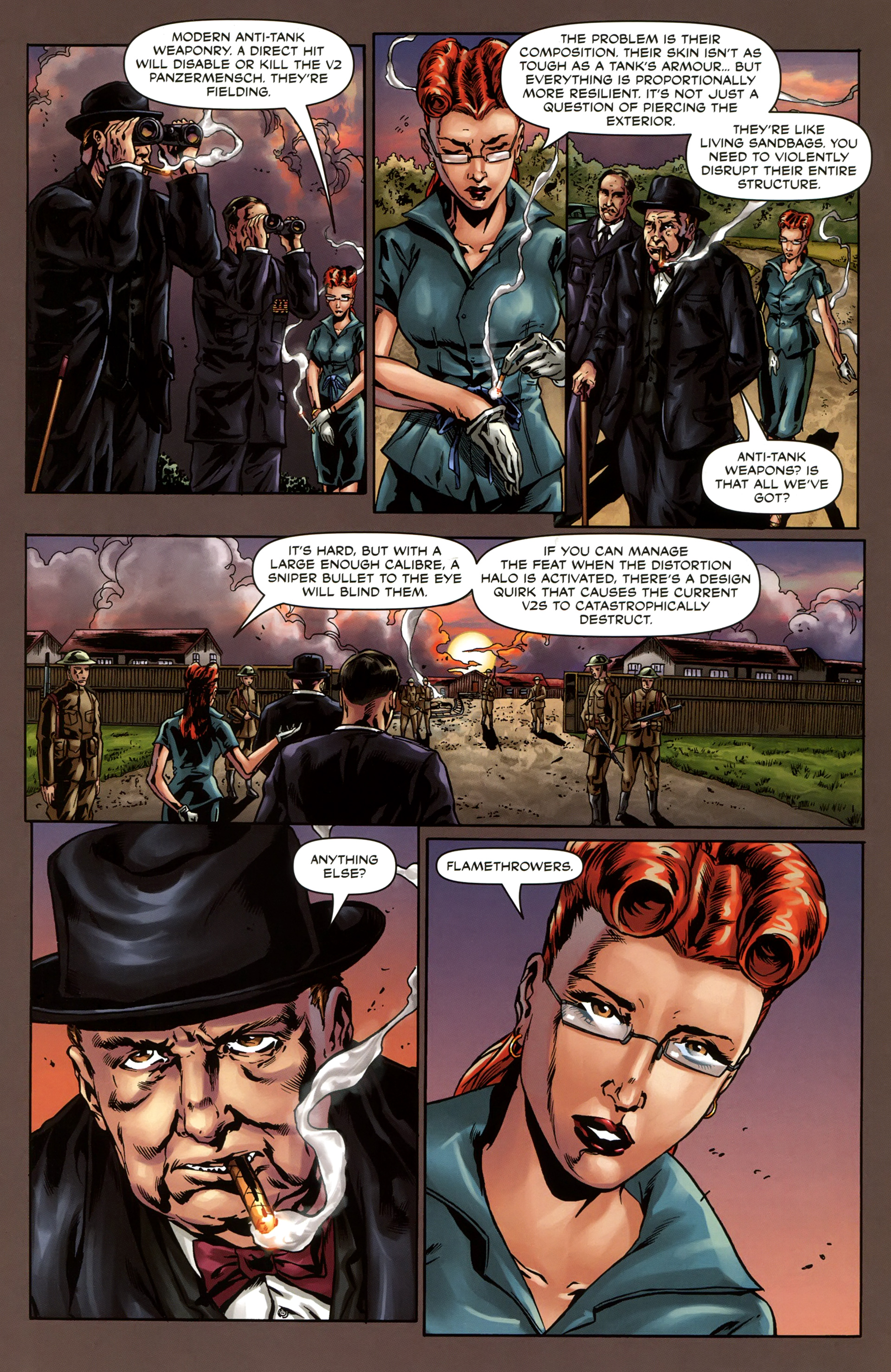 Read online Uber comic -  Issue #4 - 16