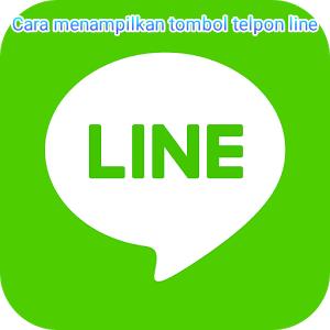 Cara menampilkan tombol telepon atau call dialer di line