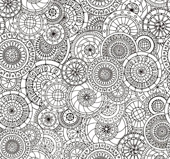 Druckbare Malvorlagen für Erwachsene-2 | Free Mandala Download