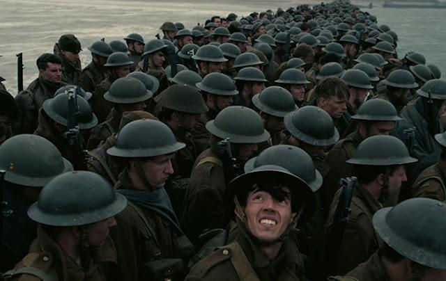 Fotograma del tráiler de la nueva película de Christopher Nolan, Dunkerque