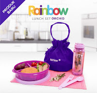Dusdusan Rainbow Lunch Set Orchid ANDHIMIND