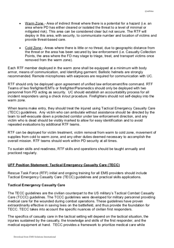 EMS SOLUTIONS INTERNATIONAL marca registrada: Tactical Emergency