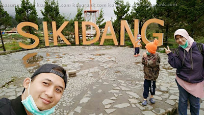 Selfie di Kawah Sikidang