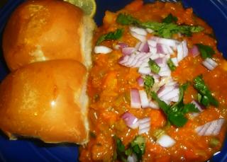 Pumpkin Pav Bhaji Recipe - How to Make Pumpkin Pav Bhaji at Home