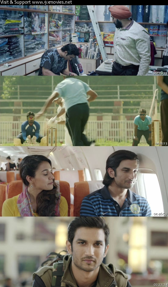 MS Dhoni The Untold Story 2016 Hindi 480p HDRip