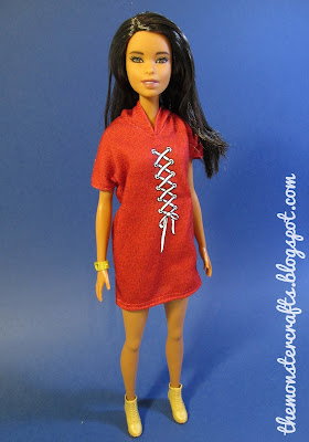 Barbie Fashionista XOXO red hoodie