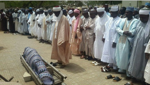 (Photo) Late 42-Year Old Sokoto Commissioner Buried