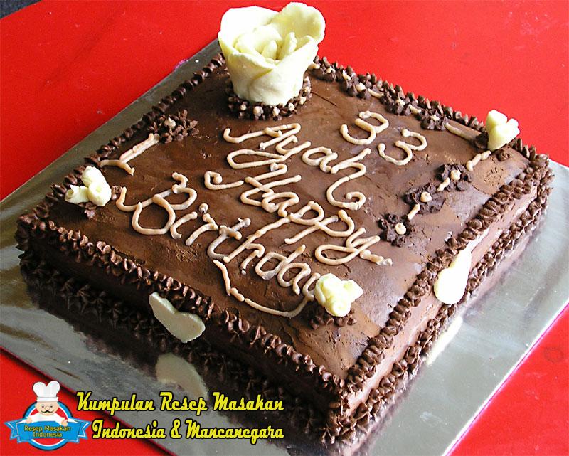 Aneka Resep Masakan Resep Kue Ulang Tahun