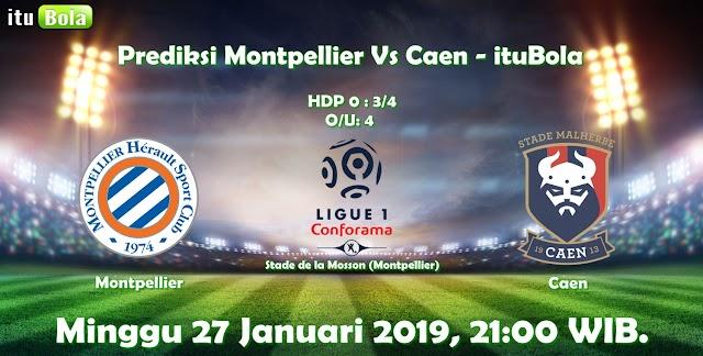 Prediksi Montpellier Vs Caen - ituBola