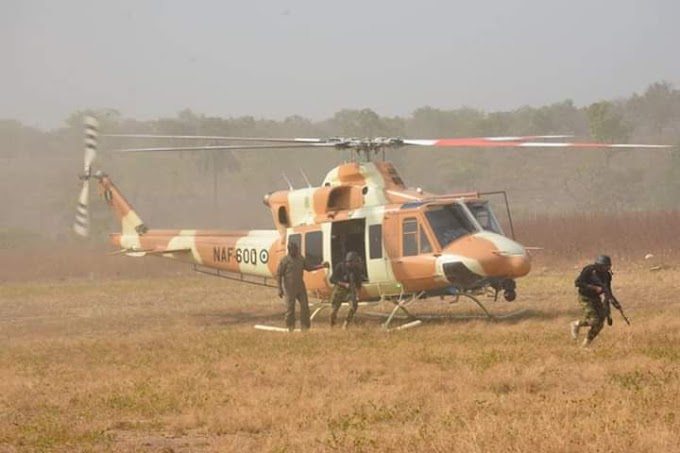 Air Force kills 12 armed bandits, rescues 15 kidnapped victims in Kaduna, Katsina