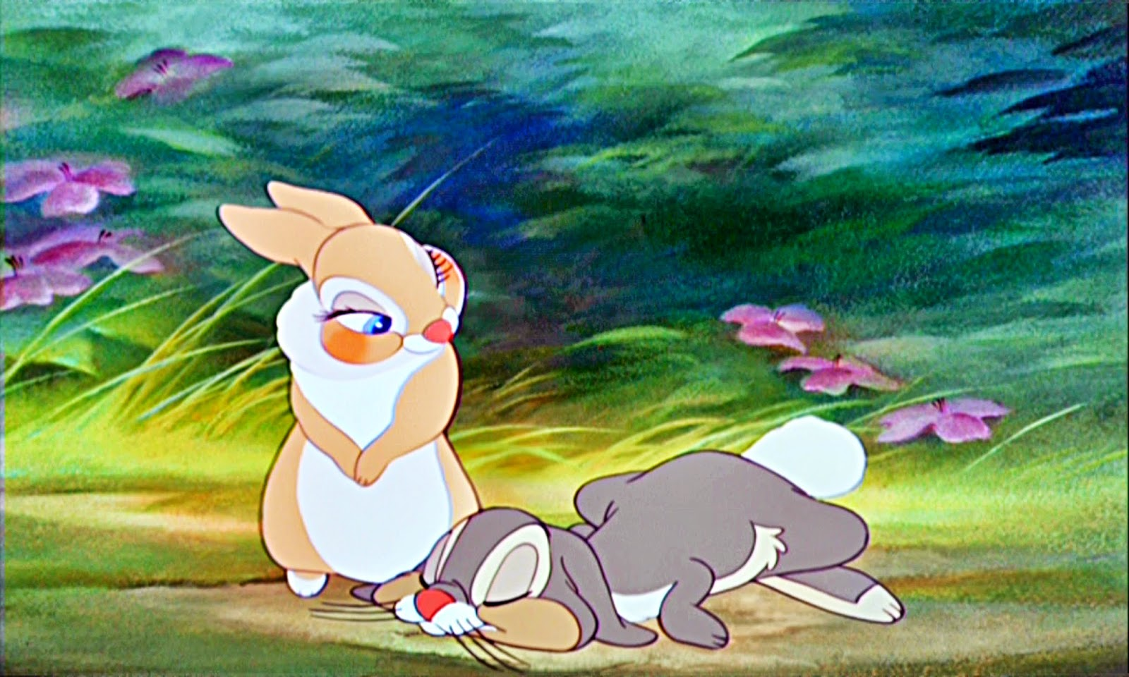 thumper and miss bunny wallpaper - photo #8