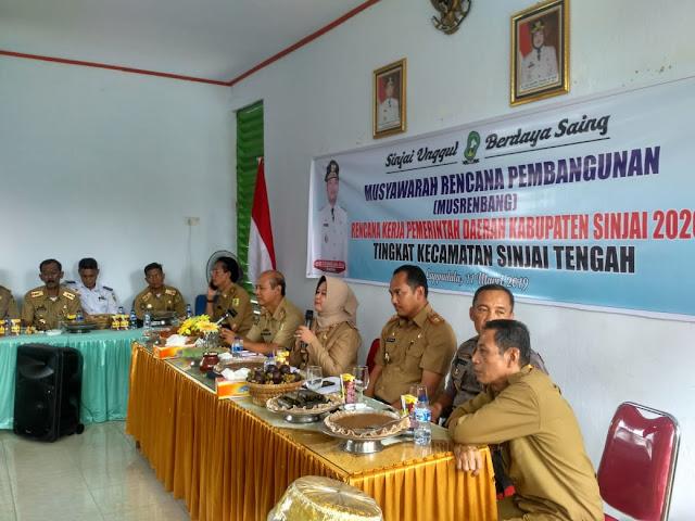 Hadiri Musrembang Kecamatan, Ini Penekanan Wabup Sinjai ke Jajaran Pemerintah Desa