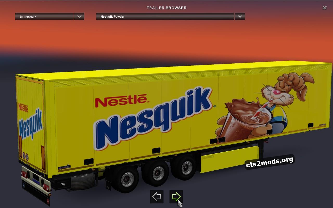 Schmitz Trailer Nesquik