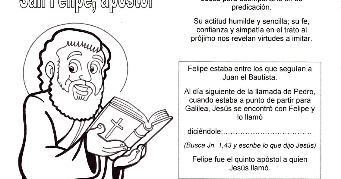 La Catequesis (El blog de Sandra): Recursos Catequesis Apóstol ...