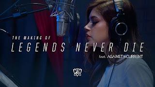 ♪ Legends Never Die ♪ LOL Season 2017 [Alan Walker Remix]