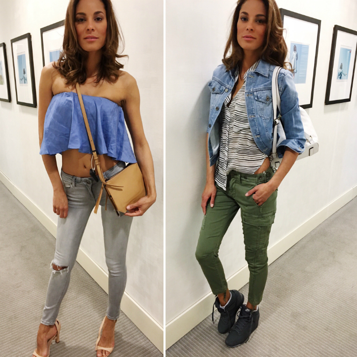Boston, Boston Fashion Blog, Events in Boston, runways, Styling, Bloomingdales, Spring Outfits, Outfits, Denim Days, Denim Trends, Spring 2016 Trends, How To Wear a Crop Top, How To Wear Camo