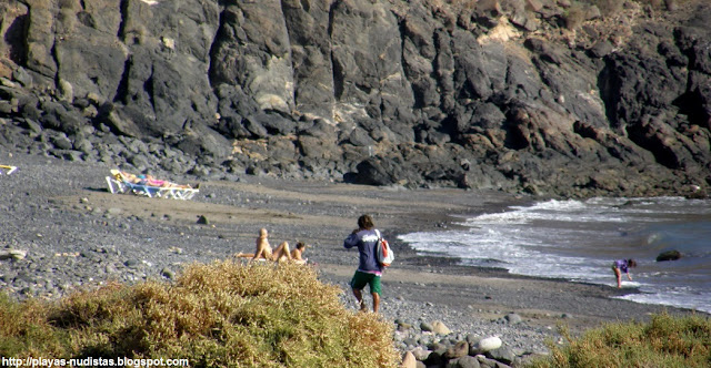 Playa Las Coloradas / El Afre (Lanzarote, Canarias, España)