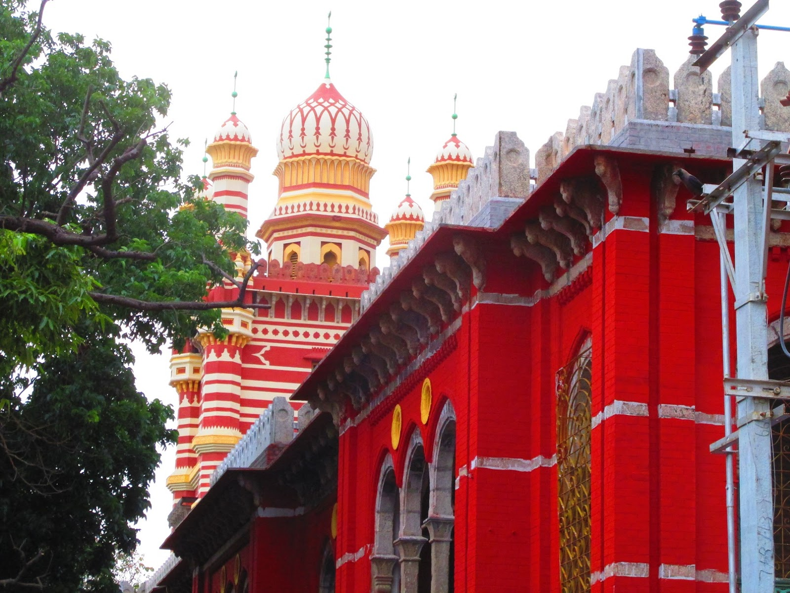Indian Columbus: Chepauk Palace