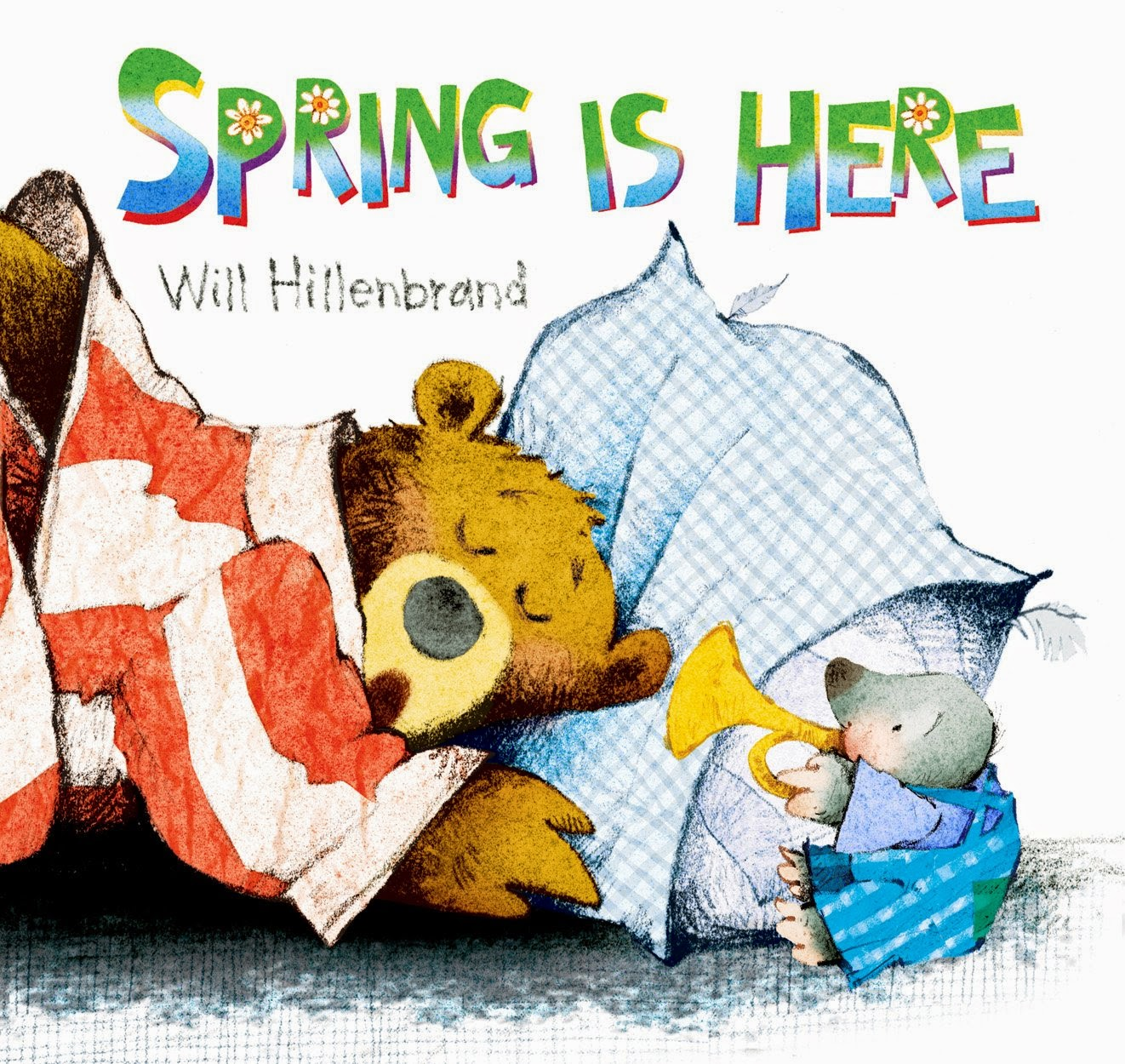 Spring Is Here, part of children's book list about spring and changing seasons
