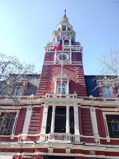 Cuartel General del Cuerpo de Bomberos, Santiago de Chile