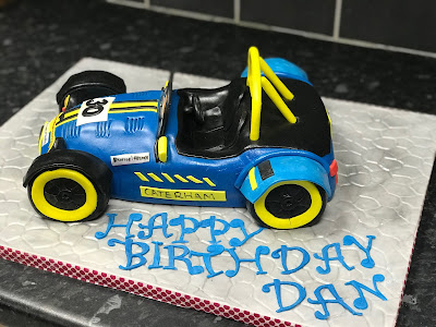 Side view of my Caterham Birthday Cake