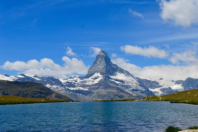 Matterhorn from the Slellisee, 5-Seenweg, Sleachmour Adventures