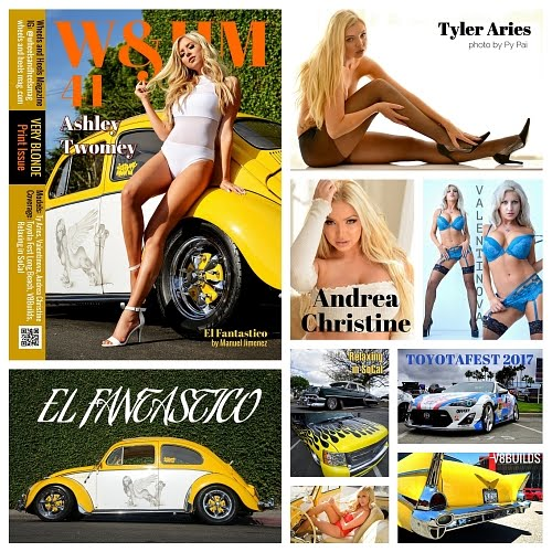 W&HM / Wheels and Heels Magazine Issue 40 Collage