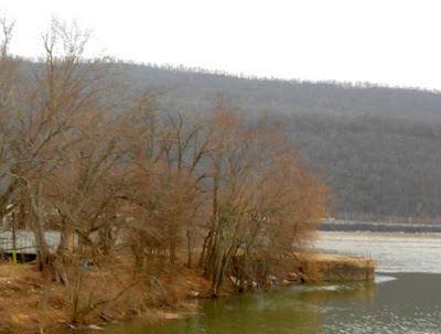 Clark's Ferry and Susquehanna River in Dauphin County Pennsylvania