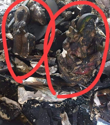 minuwangoda attack photos