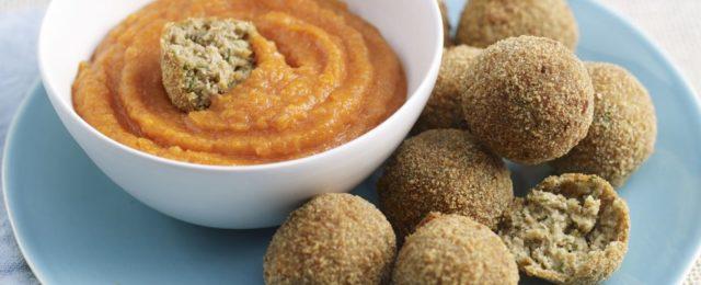 Polpettine di lenticchie al curry